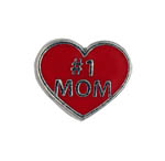 1 Mom - Enamel Charm